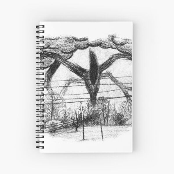 Will Drawing (Stranger Things) Spiral Notebook