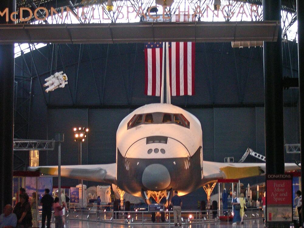 """US Space Shuttle """"Enterprise"""" by Van Coleman"""