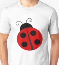 Cute Ladybug Fun Insect Unisex T-Shirt