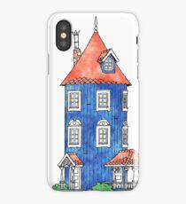 The moomin house iPhone Case/Skin