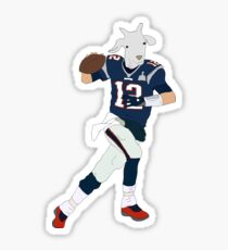 Tom Brady, The GOAT Sticker