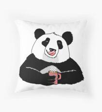 Cojín Coffe Panda
