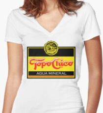 Topo chico t-shirt Women's Fitted V-Neck T-Shirt