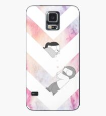 Watercolor Graphic - Pink Case/Skin for Samsung Galaxy