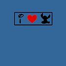 I Heart Stitch (Classic Logo) by ShopGirl91706
