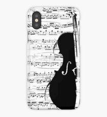 music &violin   iPhone Case/Skin