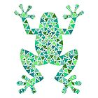 Mosaic frog. by InnaPoka