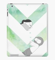 Watercolor Graphic - Green iPad Case/Skin