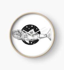 Weißer Hai-Astronaut Uhr