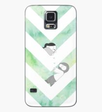 Watercolor Graphic - Green Case/Skin for Samsung Galaxy