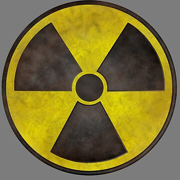 Radioactive Fallout Symbol - Dirty Nerd by AMagicalJourney
