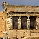 Porch of the Caryatids by Tom Gomez