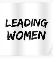 Theta Leading Women Poster