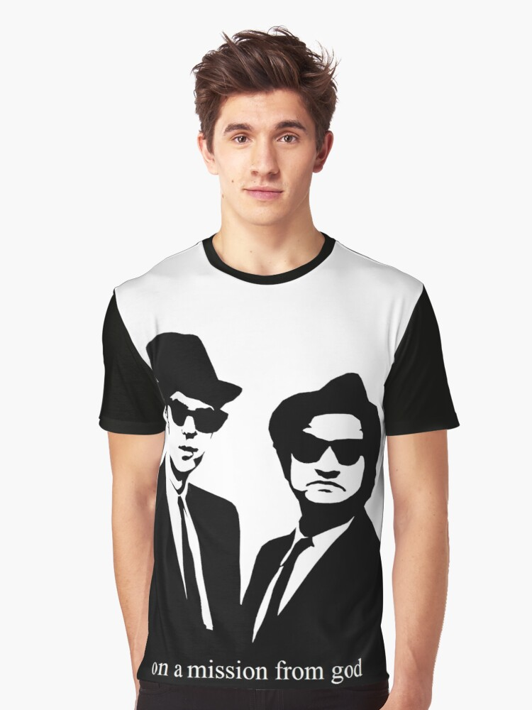 The Blues Brothers Graphic T-Shirt Front