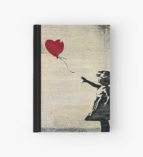 Banksy's Girl with a Red Balloon III Hardcover Journal