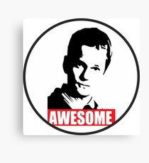 Barney - How I met your mother - Awesome Canvas Print