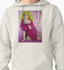 Pink Girl Pullover Hoodie