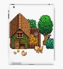 Retro Pixel Farm House iPad Case/Skin