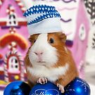 Merry Christmas with guinea pig by Vasily