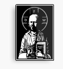 david foster wallace Metal Print
