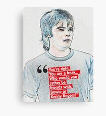 Stranger Things Season 2 Dustin Phrase About Dart Canvas Print