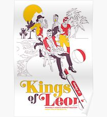 Kings of Leon - Perfect Vodka Amphitheater October 27, 2017  Poster