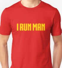 Funny Superhero Runners T-shirt Unisex T-Shirt