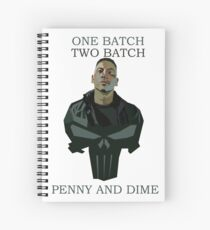 One Batch, Two Batch, Penny & Dime. Frank Castle Spiral Notebook