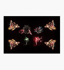 Firework Frenzy Photographic Print