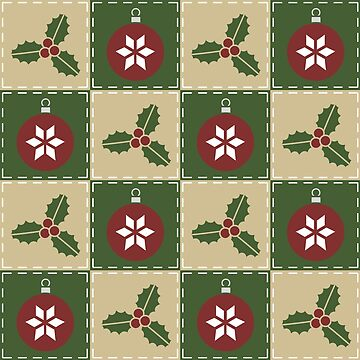 Christmas Quilt by ValerieDesigns