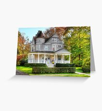 Victorian Dream House Greeting Card