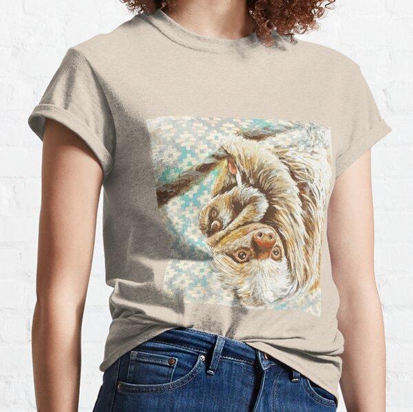 Waimiri two-toed sloth / Preguiça-real Waimiri Camiseta clásica