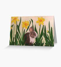 Spring Bun Greeting Card