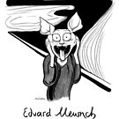 #meowdernart - Edvard Mewnch by mariapaizart