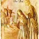 A Christmas Blessing ~ The Nativity by Marie Sharp