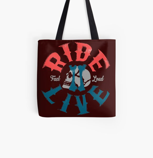 Ride 2 live All Over Print Tote Bag