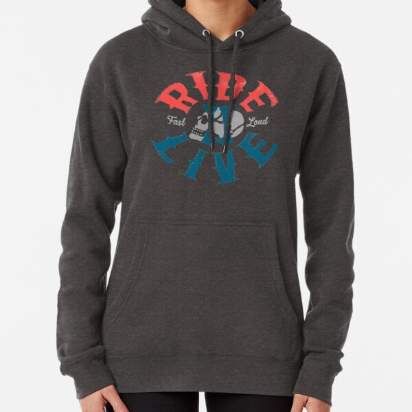 Ride 2 live Pullover Hoodie