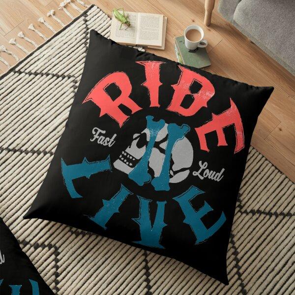 Ride 2 live Floor Pillow