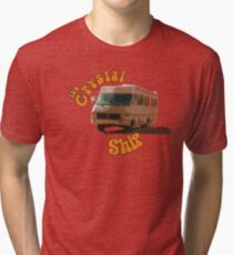The Crystal Ship Tri-blend T-Shirt