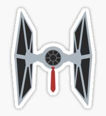 TIE Fighter w/ a tie Sticker