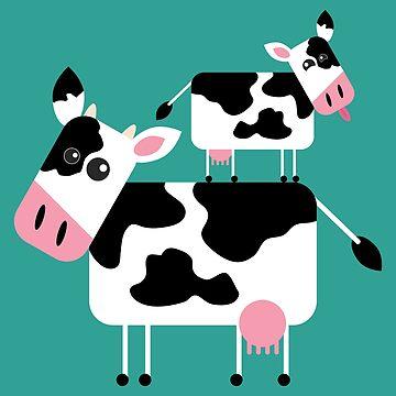 Cute Cows by lisa-richmond