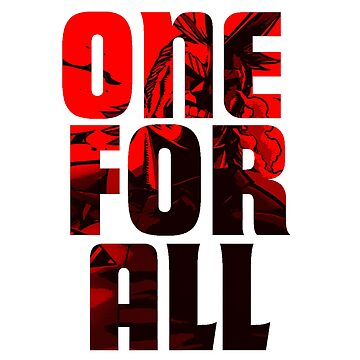 Boku No Hero Academia All Might One For All by APerspective