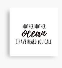 Jimmy Buffett - Mother Ocean Canvas Print
