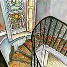 The Stairs by Elle J Wilson