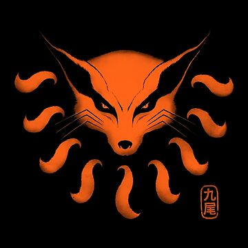 9 Tailed Demon Fox by pigboom