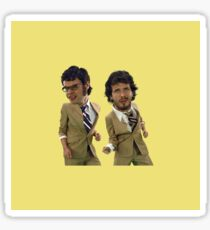 Flight of the Conchords Big Heads ver.2 Sticker