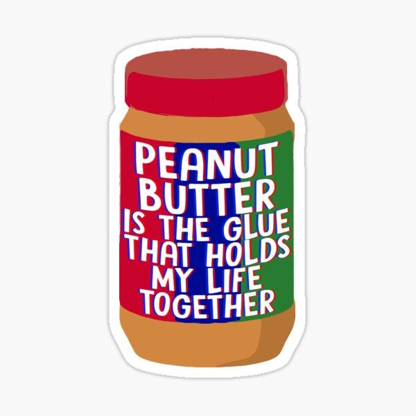 Erdnussbutter Sticker