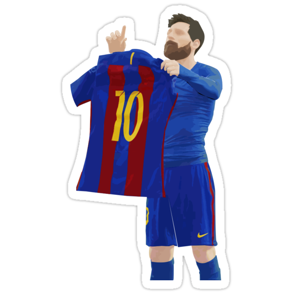 Quot Messi Quot Stickers By Amartinezart Redbubble
