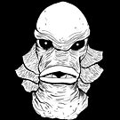 Creature from the Black Lagoon by mrbevill