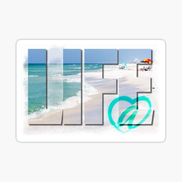 Life @ Beach Sticker